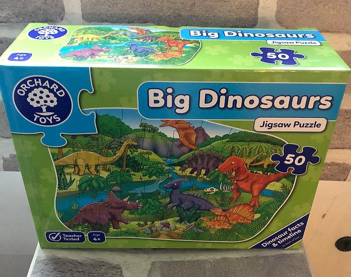 Floor puzzle Big Dinosaurs
