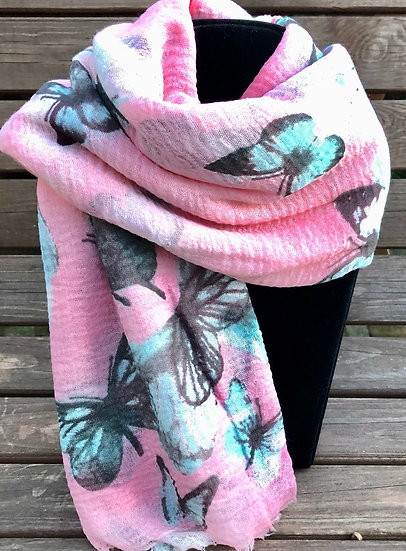 Butterfly Summer Scarf 4461