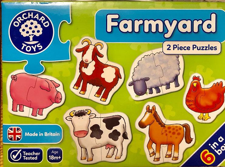 Farmyard puzzles Age 18m+