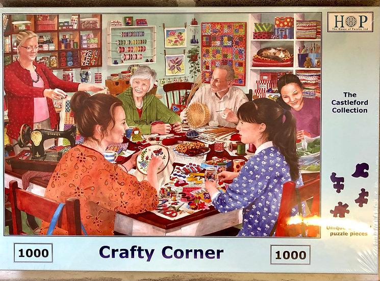 H O P Jigsaw puzzle...1000 piece....Crafty Corner