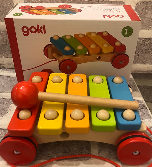 Xylophone pull along