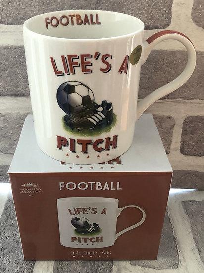Cheeky sports mug  Football
