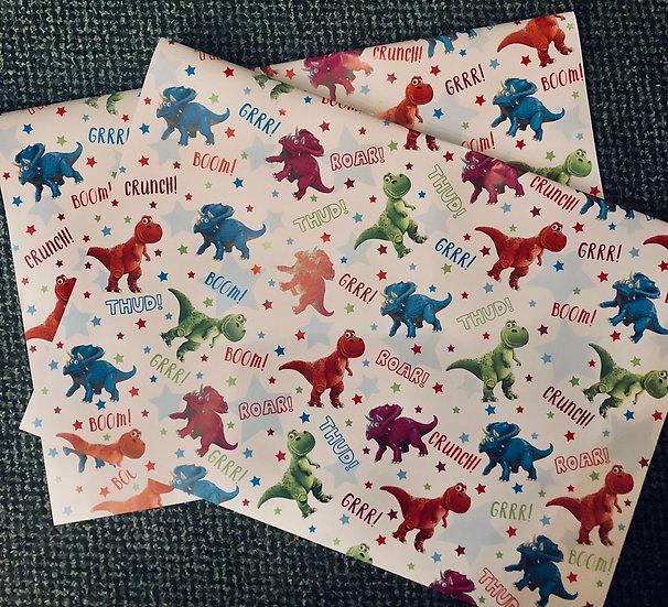 Gift wrap - Sheet - Boy