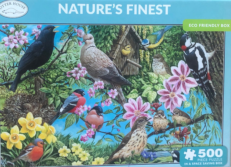 Jigsaw puzzle 500 pce  Natures finest