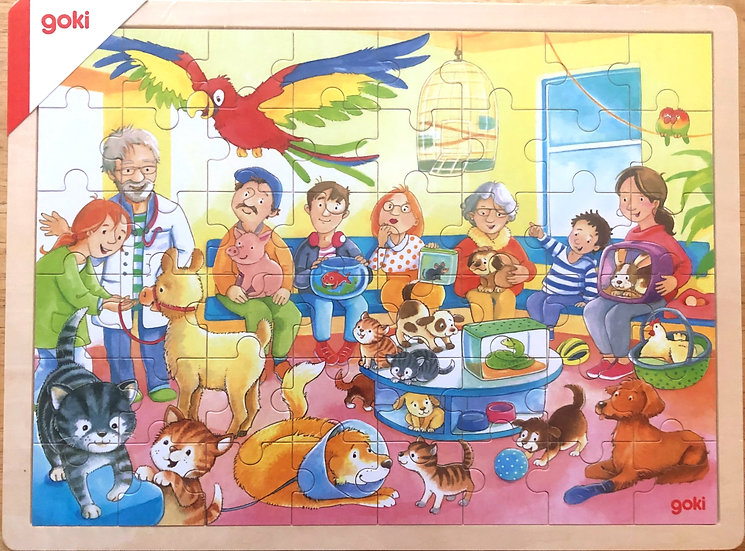 Jigsaw puzzle  Vets waiting room