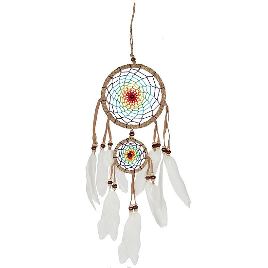 Medium multi-coloured dream catcher
