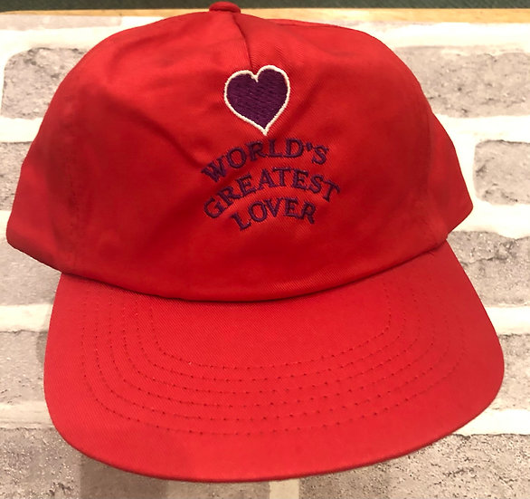 Worlds Greatest Lover Cap