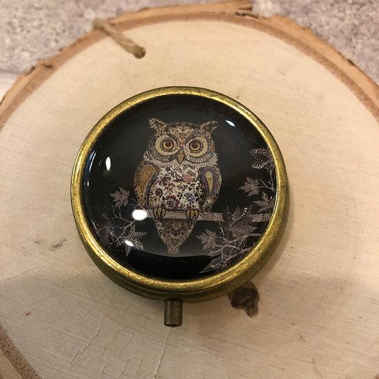 Pill Pot  Owl