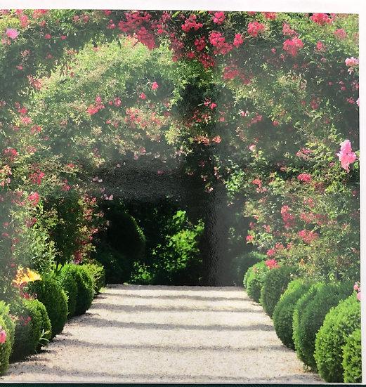 Card -  Garden arch - Blank inside