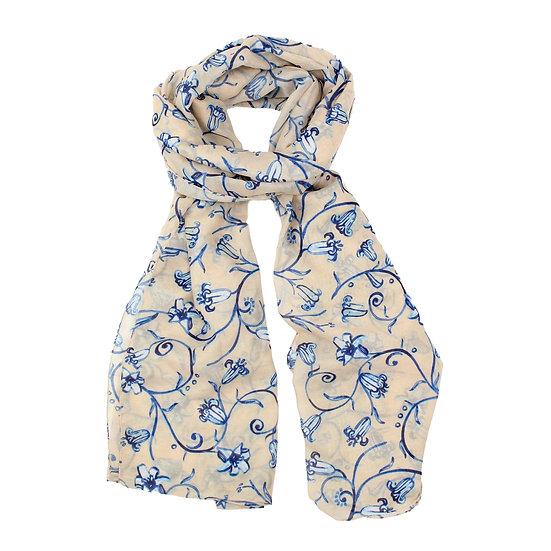 Summer scarf - Bluebell - RH4059 C22