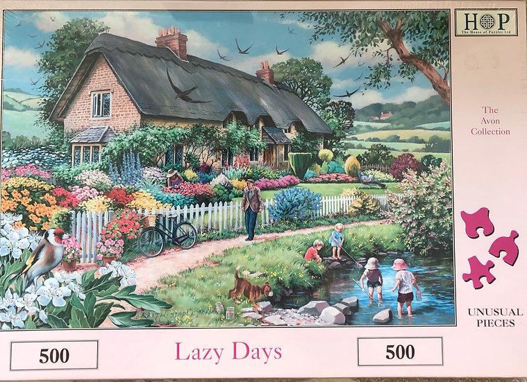 H O P Jigsaw puzzle...500 piece....Lazy days