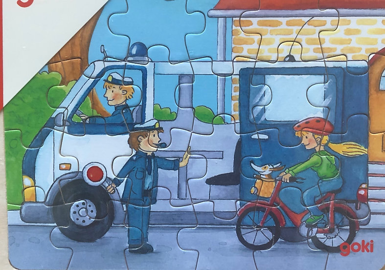 Tray puzzle Van 24 piece