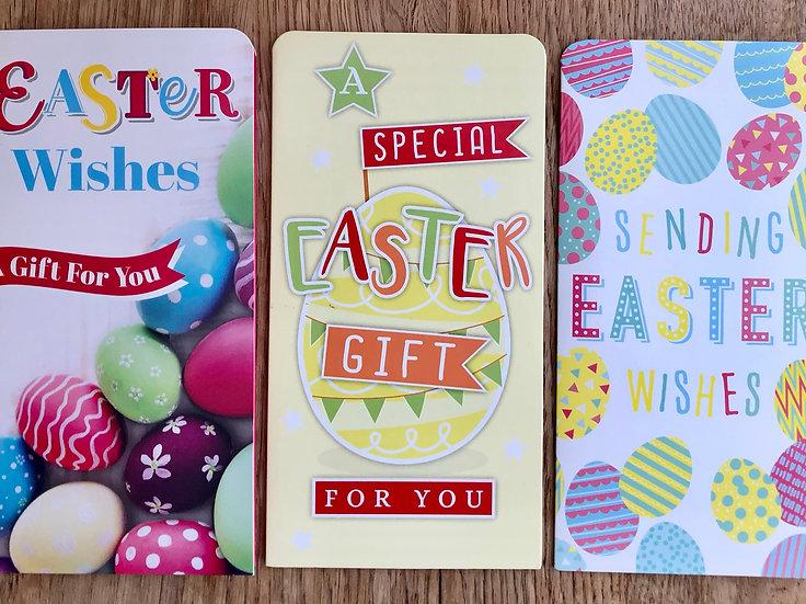 3 x Easter Money Wallets - C