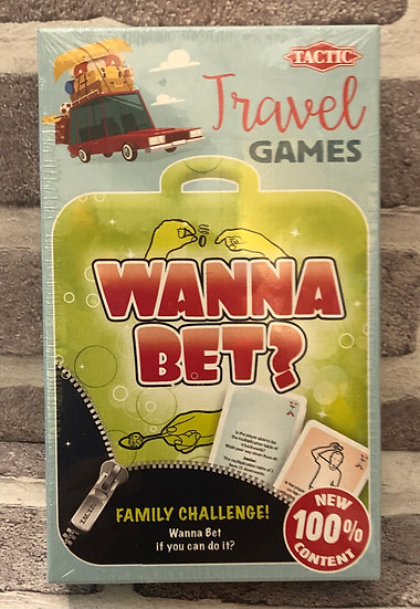 Wanna bet? Travel game    8+yrs
