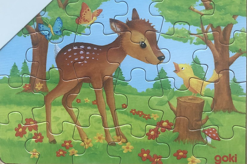 Tray puzzle Reindeer  24 piece