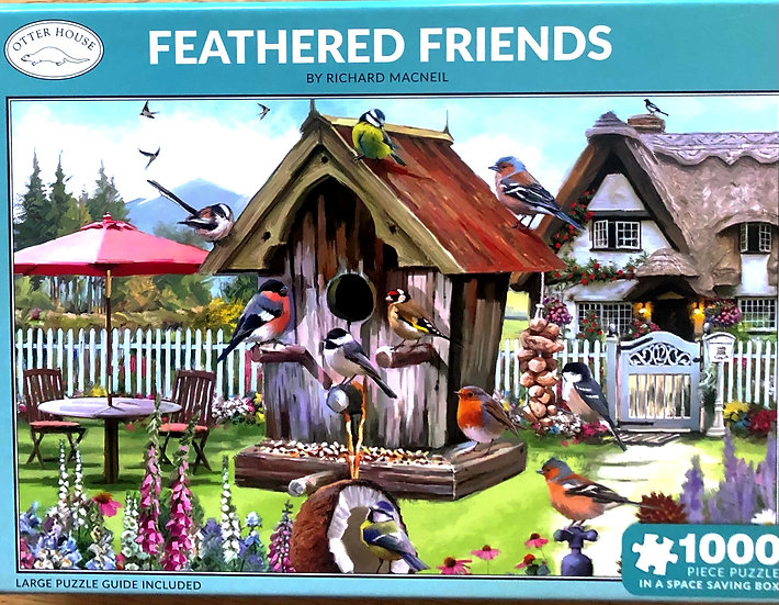 Jigsaw puzzle 1000 pce Feathered friends.