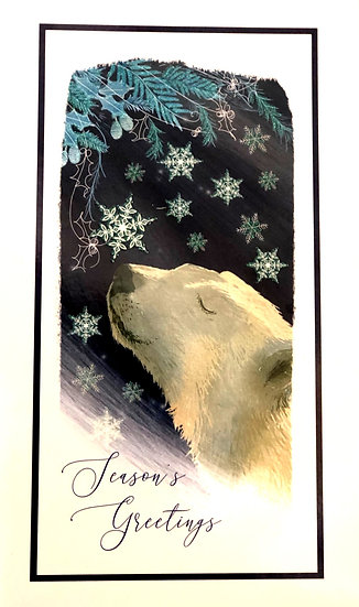 Christmas cards Polar bear