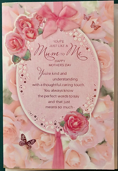 Like a Mum - Mothers Day Card