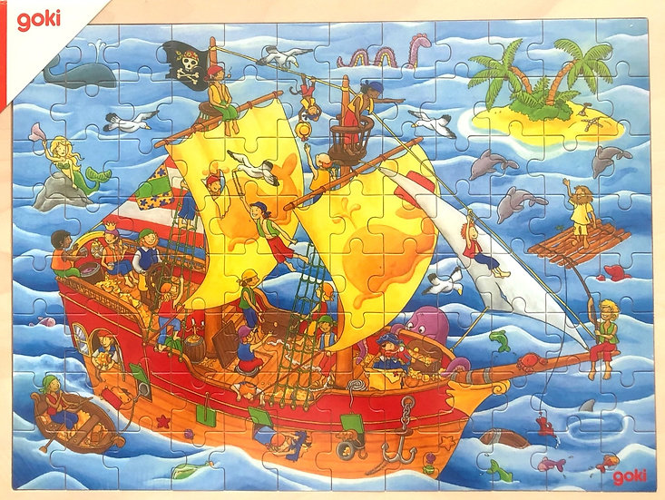 Jigsaw puzzle Pirate ship