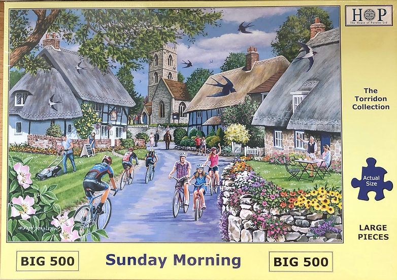 H O P ..Jigsaw puzzle..BIG500...Sunday morning