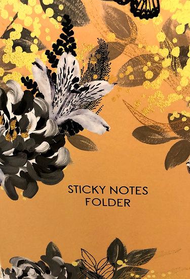 Sticky note folder