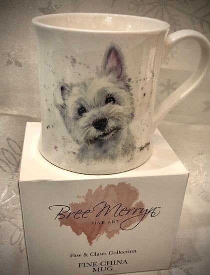 Bree Merryn mug Fergal Westie
