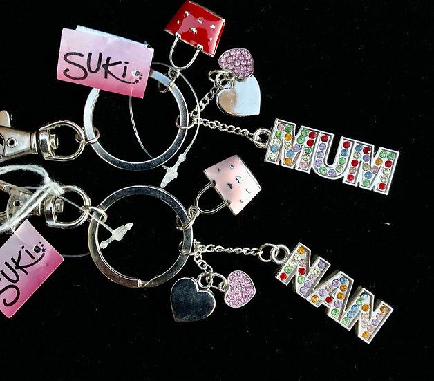 Key ring for Mum or Nan