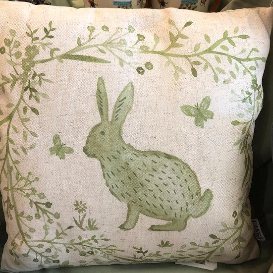 Sage cottage Hare Cushion