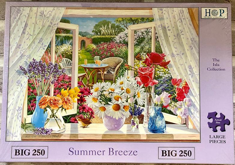 H O P jigsaw puzzle...BIG250...Summer Breeze