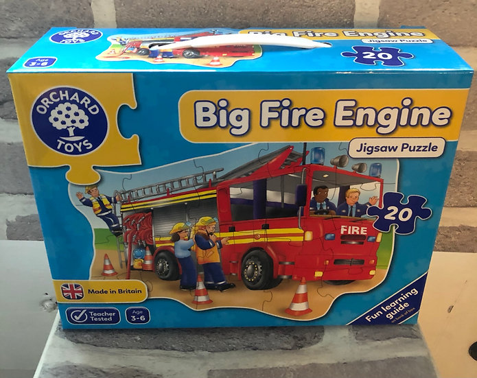 Floor puzzle Big fire engine