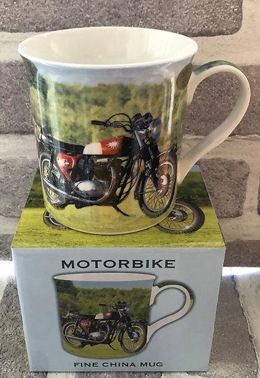 Mens CLASSIC boxed mug   Motorbike