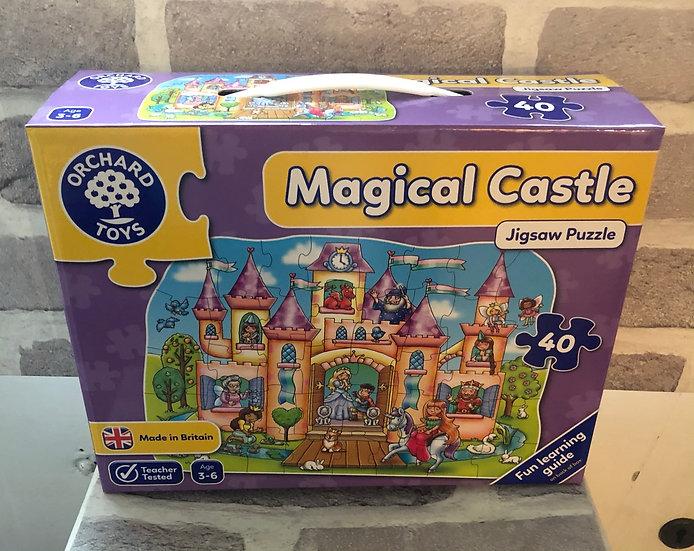 Floor puzzle Magical castle