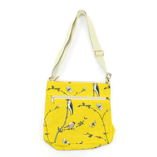 Cross body bag Woodpecker yellow