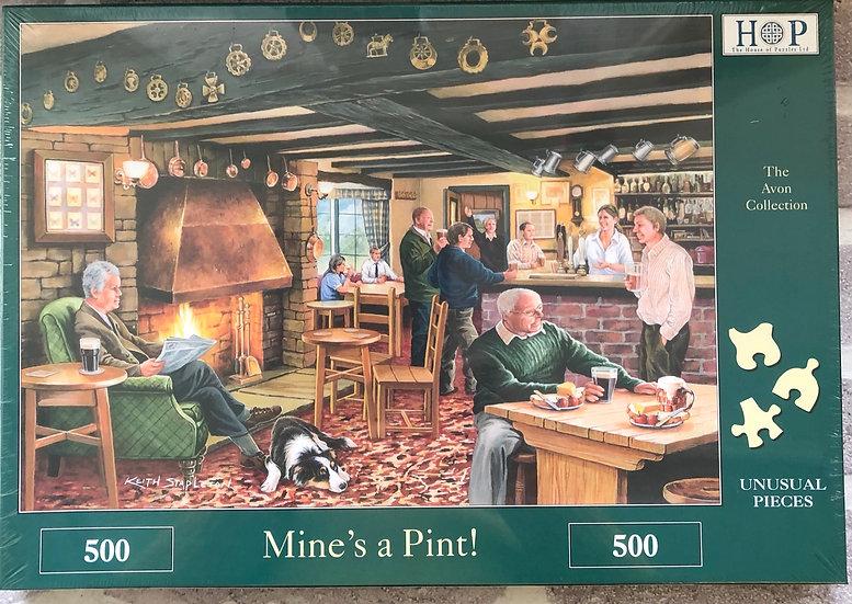 H O P Jigsaw puzzle...500 piece....Mines a pint