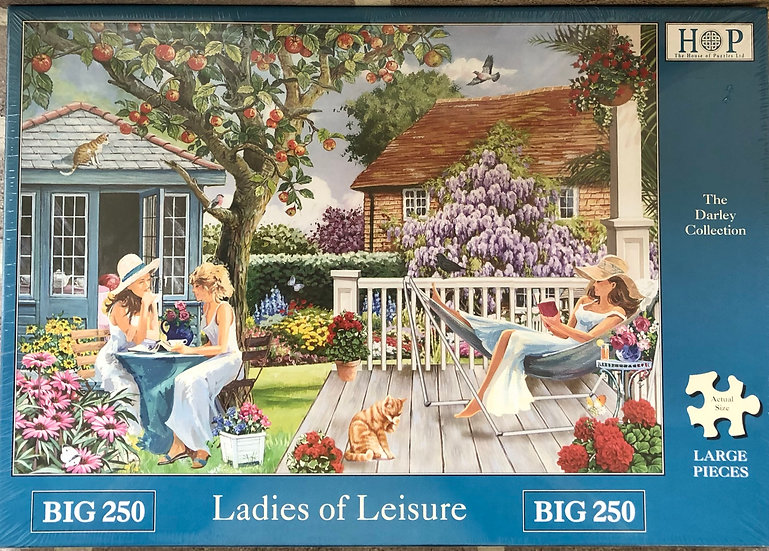 H O P ..Jigsaw puzzle....BIG 250..Ladies of leisure.