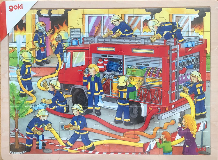 Jigsaw puzzle Fire engine