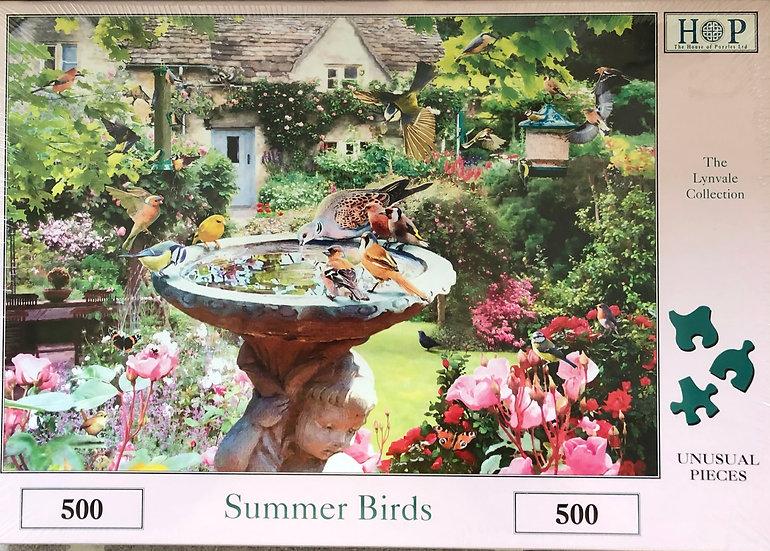 H O P Jigsaw puzzle...500 piece....Summer Birds
