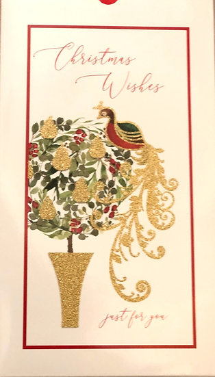 Christmas cards  Partridge in a pear tree