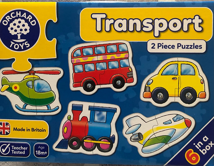 Transport puzzles  Age 18m+