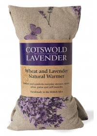 Wheat and lavender warmer