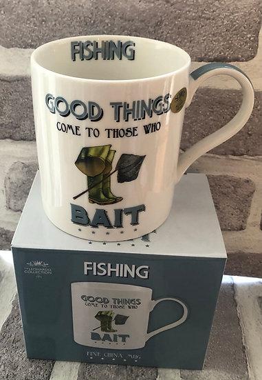 Cheeky Sports Mug  Fishing