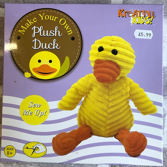 Make-your-own cute duck