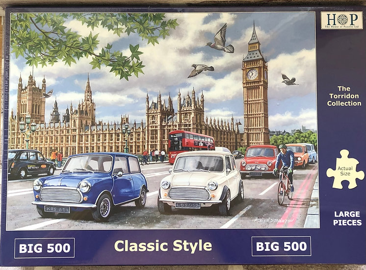 H O P ..Jigsaw puzzle..BIG500...Classic style