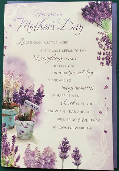 For You on Mothers Day