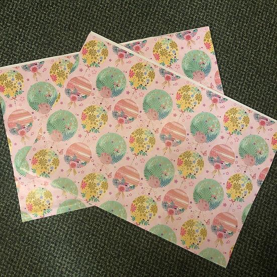 Gift wrap -sheet - Female