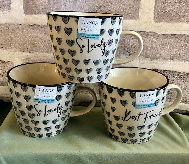 Hearts Mug -So lovely