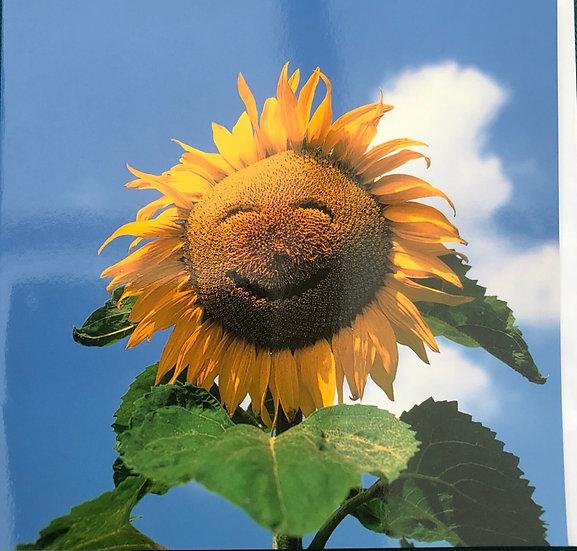 Card - Sunflower - Blank inside