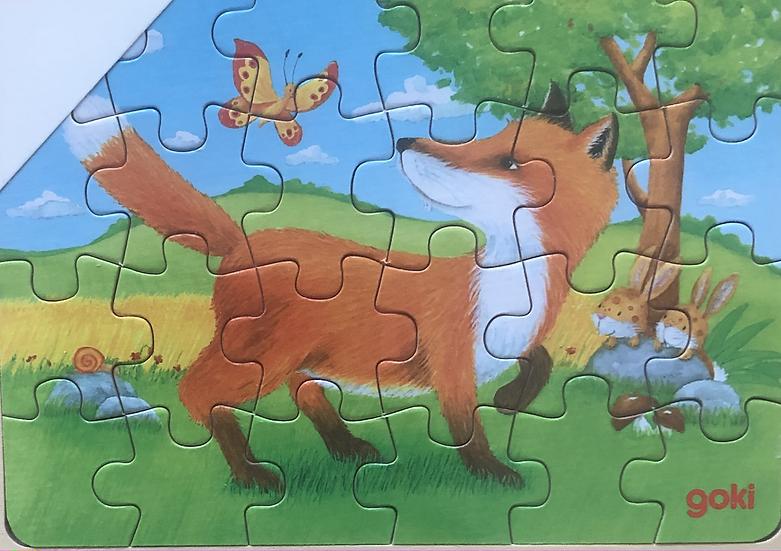 Tray puzzle Fox 24 piece