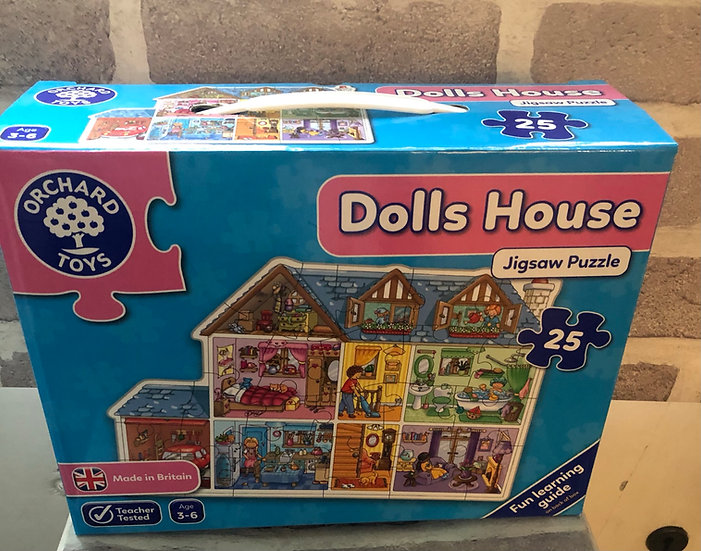 Floor puzzle Dolls house