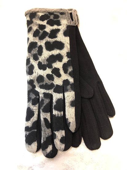 Glove Animal print.
